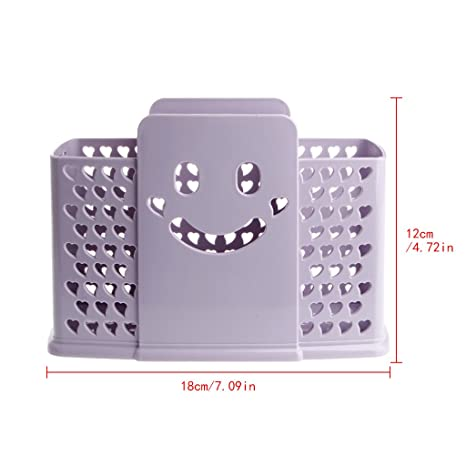Xuniu - Escurridor de Cocina para cubertería (18 x 12 cm, plástico)