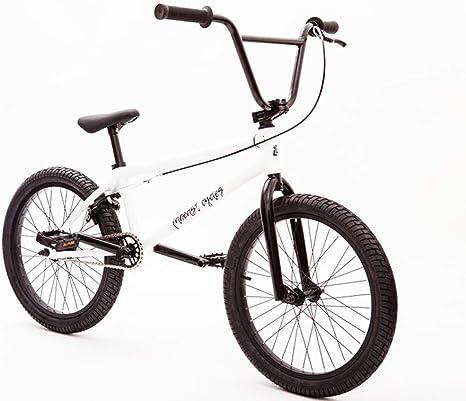 Adultos de 20 Pulgadas del Grado Profesional Bici de BMX, Calle Stunt Car Acción BMX Bicicletas, Principiante Nivel para los Jinetes avanzados Hombres Mujeres General: Amazon.es: Deportes y aire libre