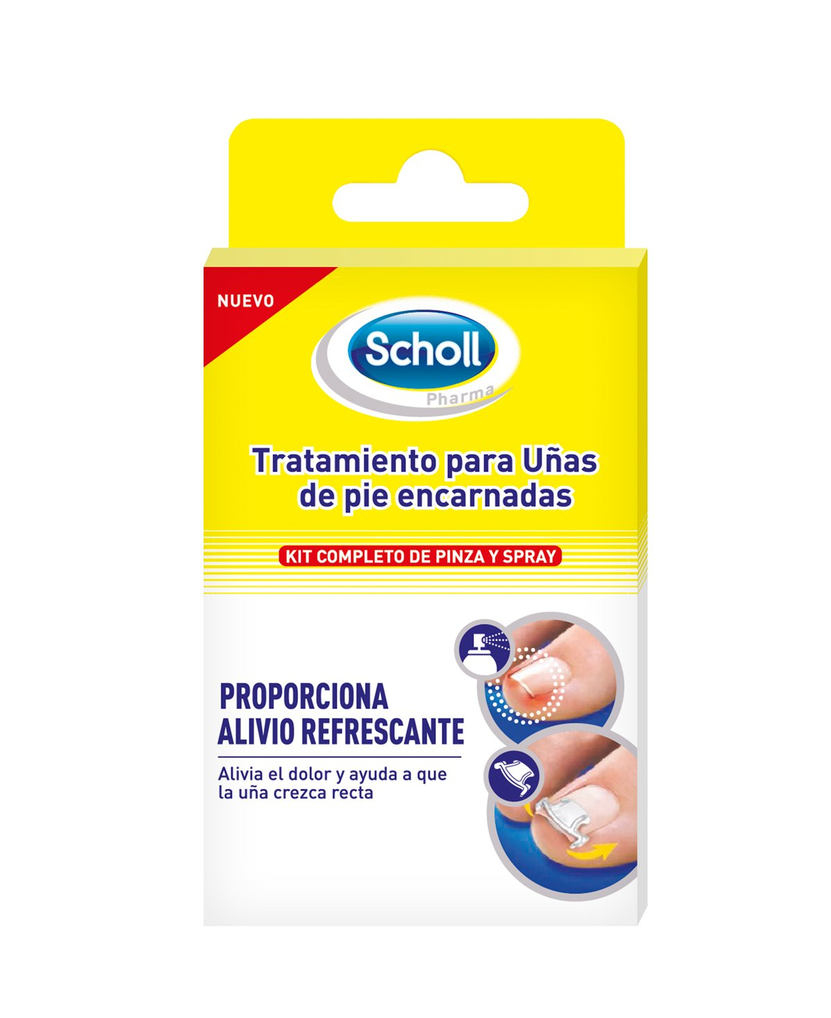 Scholl Treatment for Ingrown Toenails  Amazon.it  Salute e cura della  persona f388d1a4d9d