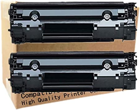 No-name Compatible 2 Pack High Yield Black Toner Cartridge Replacement for Canon CRG 303 103 503 703 i-SENSYS LBP 2900 3000 Fax L100 110 120 160 MF 4150 4120 4680 Fax-L100 Fax-110 Fax-120 MF-4150