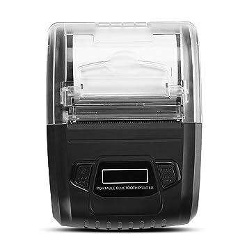 Vbestlife Mini Impresora Inalámbrica Móvil del Recibo de ...