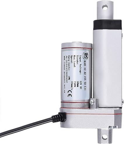 12V Linearmotor Verstellantrieb Toröffner Drahtlose Fernbedienung DPDT-Schalter