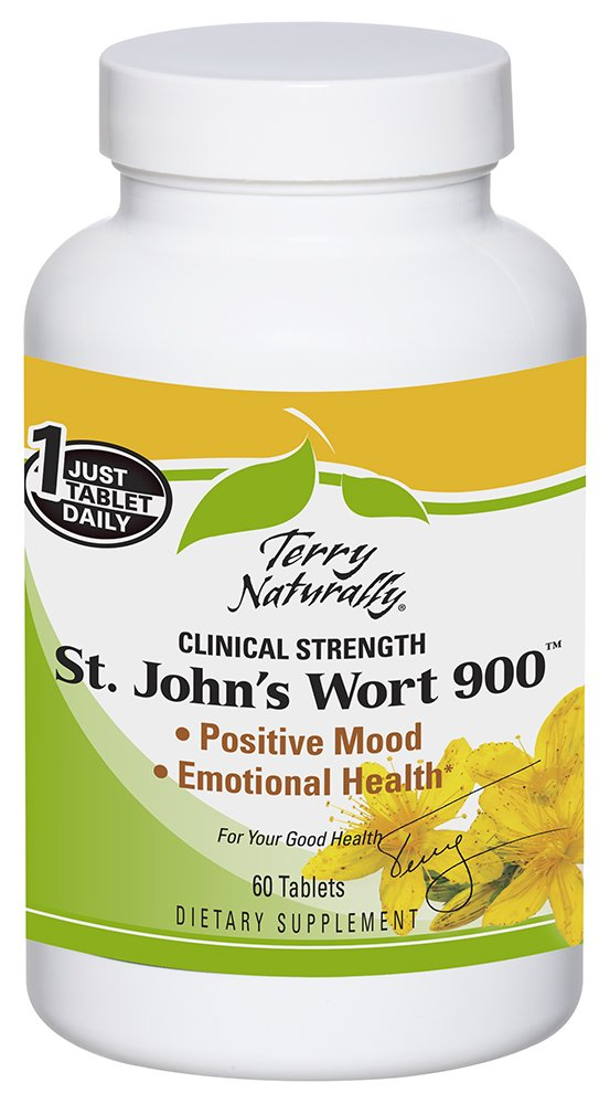 Terry Naturally St. John's Wort 900 - 60 Tablets
