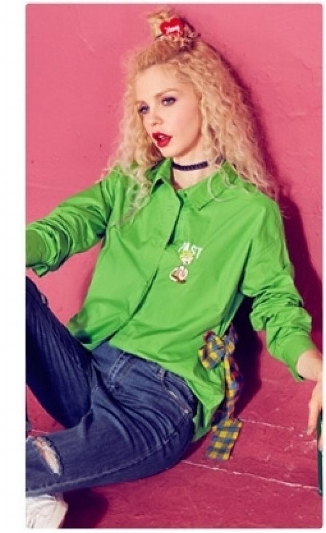 Generic fairy pocket autumn 2018 new loose lace _hit_ color plaid windbreaker jacket Women