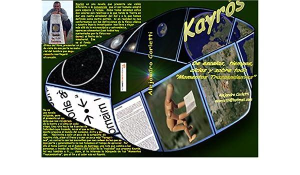 Amazon.com: Kayros, de escalas, tiempos, ciclos y sobre todo