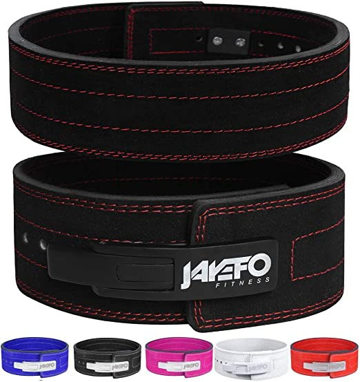 Jayefo Sports Weightlifting Back Support Brace Adjustable Belt for Men /& Women Lightweight Buckle Workout Black Deadlift Squat Gym Workout Fitness Weight Lifting