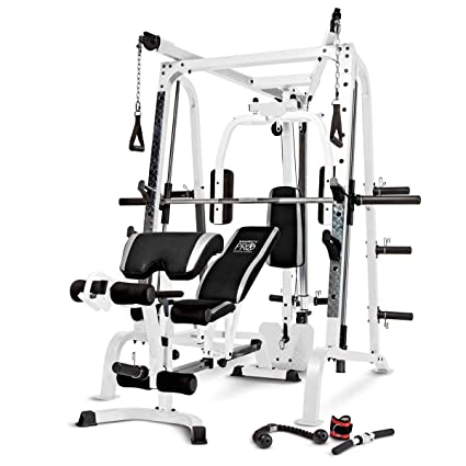 Amazon marcy diamond smith cage home gym system sports