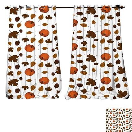Amazon Com Despkon Home Customized Curtains Thanksgiving
