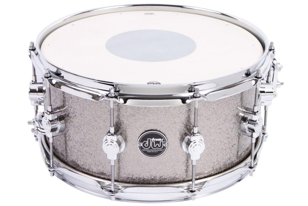 DW Performance Series Snare Drum - 6.5x14 - Titanium Sparkle Finish Ply