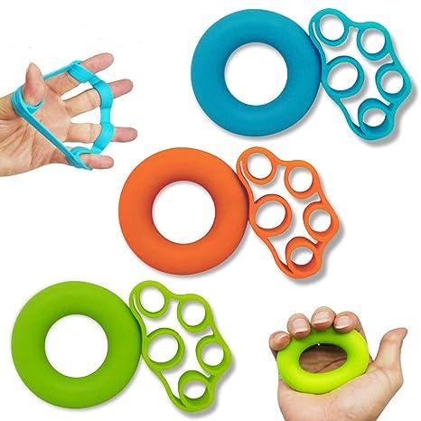 HSP-HSWITI fortalecedor de agarre de mano y estirador de dedos ...