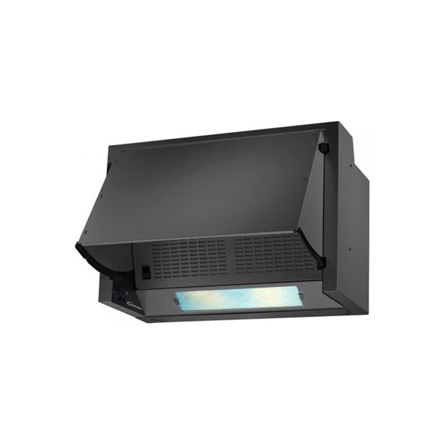 Candy CBP612/3N 60cm Integrated Cooker Hood - Black