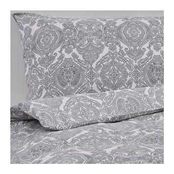 Ikea Bettwäsche Set Skörpil Bettgarnitur Mit Reißverschluss Weiß