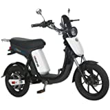 GIGABYKE GROOVE 48V 750W Eco-Friendly Electric Moped Scooter E-Bike- White