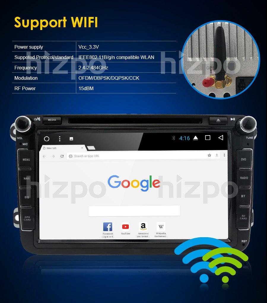 Hizpo WiFi Android 7.1 Octa-Core 8 Pulgadas 2GB RAM + 32GB ROM ...