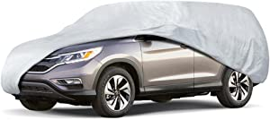 Motor Trend All Season Weatherwear 1-Poly Layer Snow Proof, Water Resistant Van/SUV Cover Fits up to 200 Inch