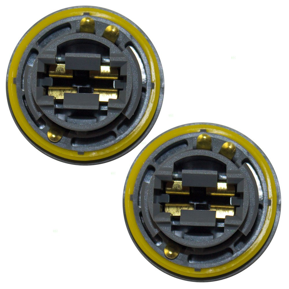 Amazon.com: Pair of Tailight Taillamp Sockets Replacement for Chrysler Dodge Jeep Plymouth SUV Van 4676589: Automotive