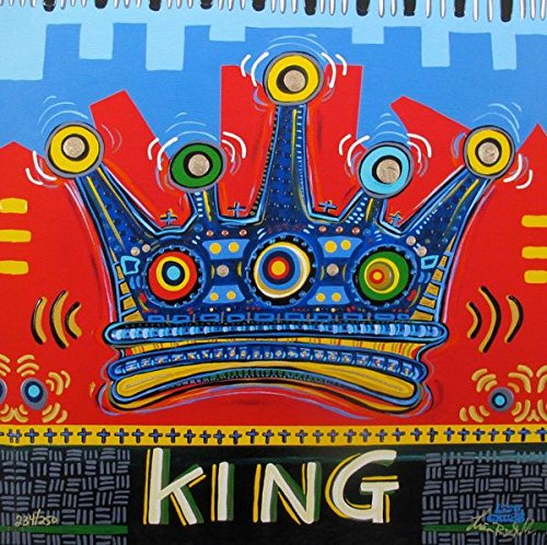 Leos Coffers Art by Lisa Grubb Kings Crown