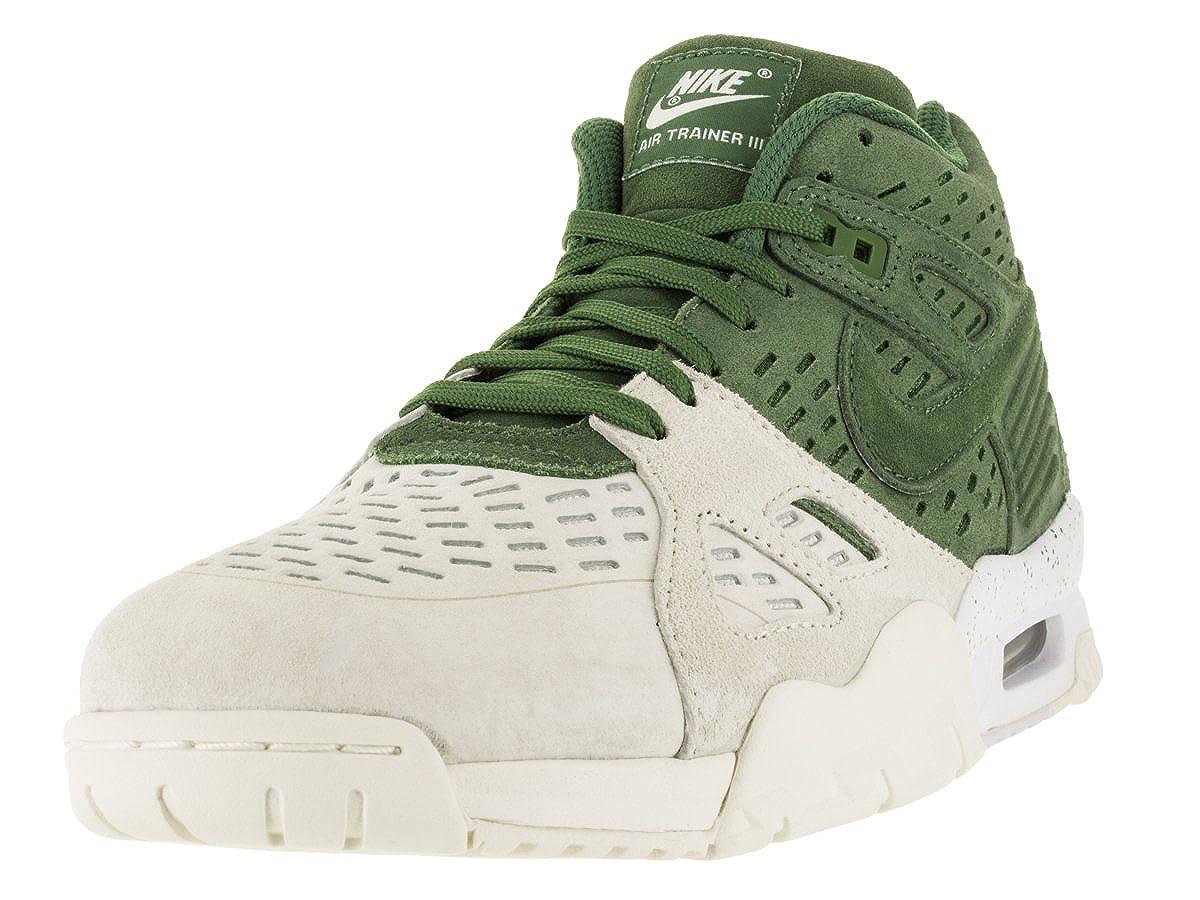76d830d9d55b4 Nike Men s Air Trainer 3 Le Treeline Treeline Sail White Training Shoe 10  Men US  Buy Online at Low Prices in India - Amazon.in