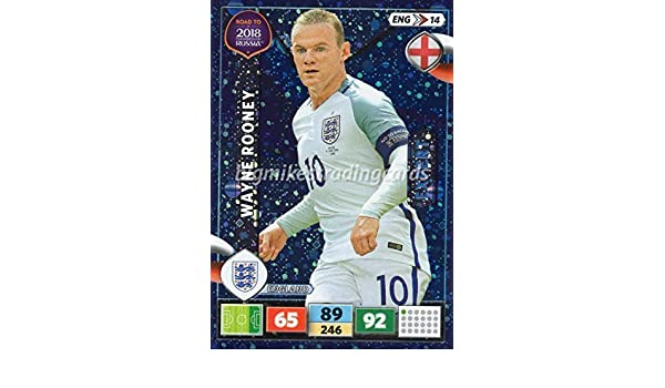 Eng14-wayne rooney-Expert-Panini Adrenalyn Road to World Cup 2018