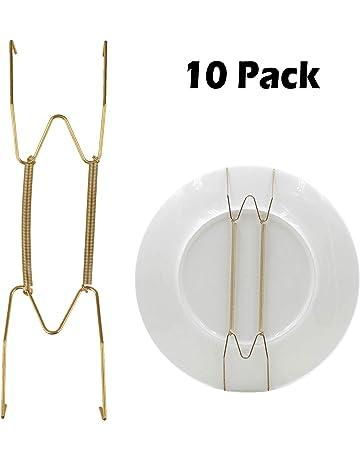 10 piezas Plateado Peque/ños ganchos Clips acero inoxidable percha pinzas clips de sujeci/ón para cortina y actividades al aire libre alambre acero inoxidable