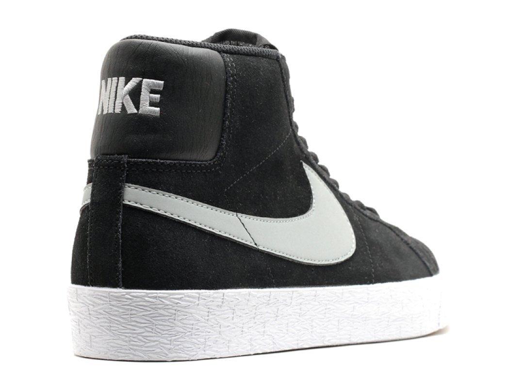 Nike Men's Blazer Sb Premium Se Base Grey/black/white Skate Shoe8.5