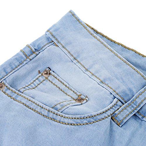 Homyl Homyl bleu Jeans clair Femme Jeans 0rq0Ow