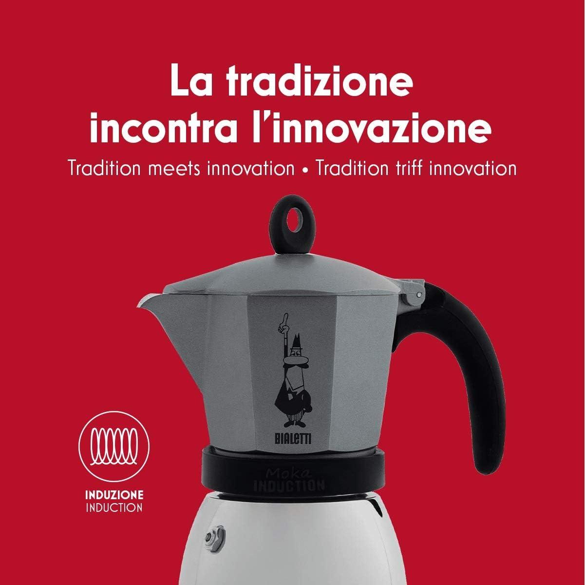 Bialetti Moka Induction Cafetera Italiana Espreso por Inducción ...