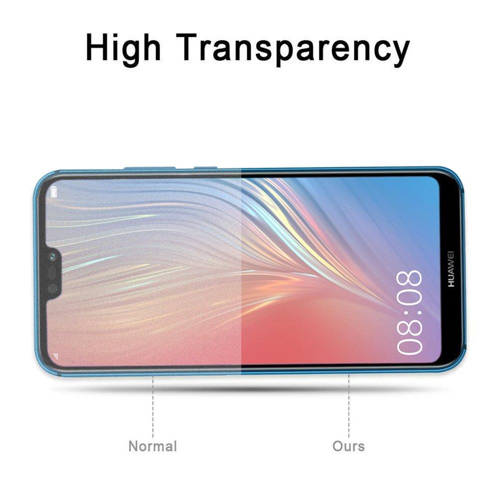 AROC Pellicola salvaschermo Huawei P20 Lite, Pellicola protettiva in vetro temperato trasparente HD Pellicola protettiva da 0,3 mm sottile e 9H [Anti-graffio] [Bubble Free] [2 pezzi]