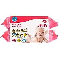 فارلين (1+1) مناديل للطفل لا يسبب حساسية 85 منديل للبكت _DT-006A-2C