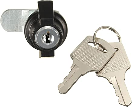 Cam Lock  Desk Drawer Lock with 2 Keys for Arcade Cupboard Mailbox File Cabinet