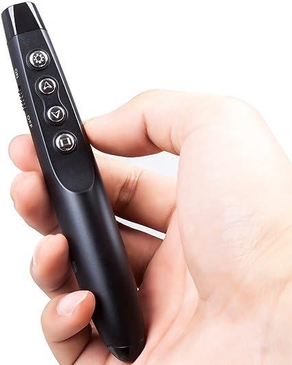 mini r/écepteur USB Blinngo 2.4GHz T/él/écommande de pr/ésentation Dispositif Wireless presenter Compatible avec Windows XP//win7//win10//Linus//Macos,etc Pr/ésentation Sans fil