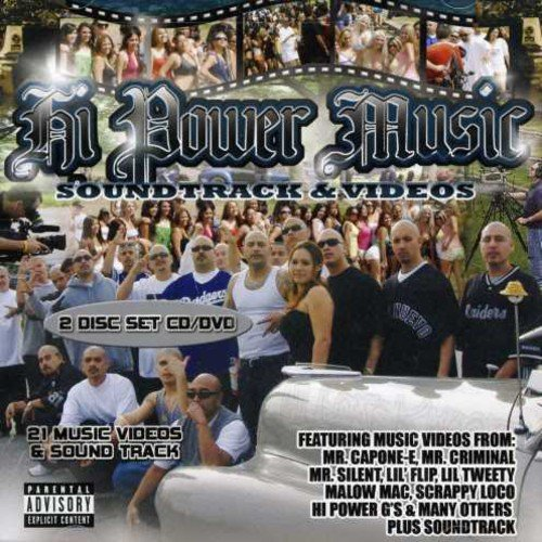 CD : HI POWER MUSIC - Hi Power Music: Music Videos And Soundtrack [explicit Content] (2PC)