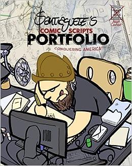 Santiaguete's Portfolio: a Comic book about an Amateur's life