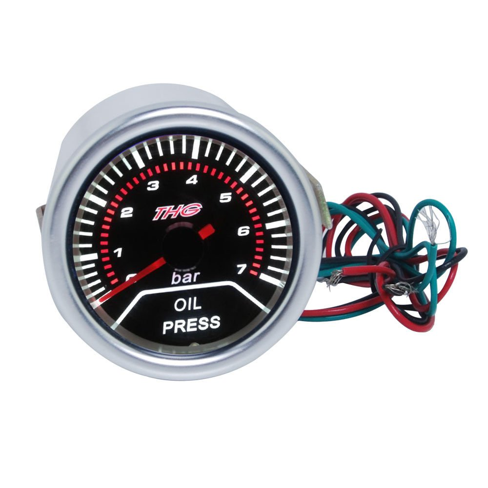 52MM// 2 Excellent EXT Tempreture Gauge DC12V Diameter