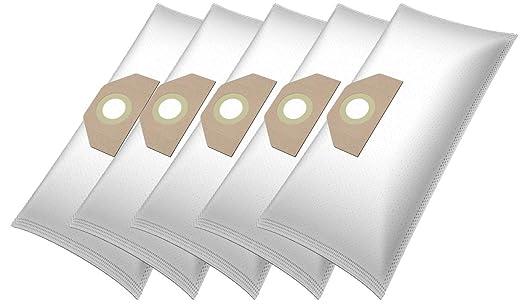 5 textiles MUY FUERTE bolsas de para Kärcher 6.959-130.0 (WD 3, MV 3, SE 4001, 3000 Plus, WD 3.200, WD 3.000 - WD 3.999, A 2201, 2204, A 2200 - A ...