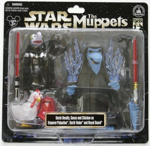 Star Wars Muppets - Japan Import Disney Star Wars Weekends 2013 Muppets Uncle Deadly Gonzo Figure Darth Vader