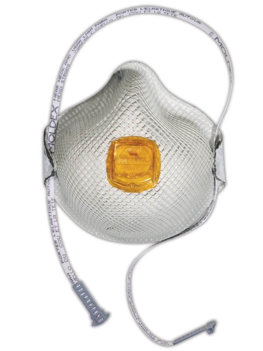 Moldex M2800N95 N95 Particulate Respirator with Handystrap (10 per Dispenser)