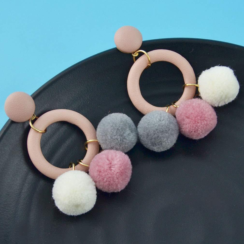 Jinxian Venonat Earrings Ear Studs Fashion Temperamental Jewelry Elegant Graceful