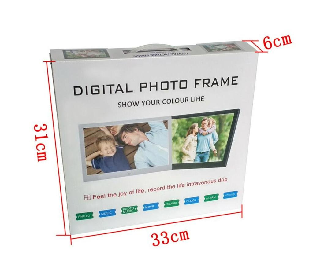 Amazon.com: DOOLST Digital Photo Frame 12 inch Hi-Res Slim narrow border HD Metal Digital Picture Frames, A: Sports & Outdoors