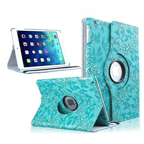 iPad Mini Case, TabPow [360 Degrees][Flip][Smart Case] Grapevine PU Leather Flip Case [Magnetic Closure] [Auto Sleep Wake Feature] Smart Cover With Stand For iPad Mini and iPad Mini 2 with Retina - Grapevine Pedestal