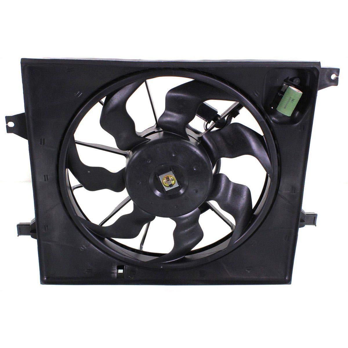 Radiator Cooling Fan For 2010-2011 Kia Soul 1.6L Engine Single Fan