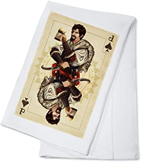 product image for Jack of Spades - Playing Card (100% Cotton Kitchen Towel)