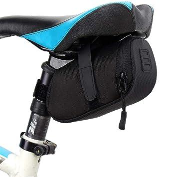 Xiton 1 PC Bicicleta Bolsa De SillíN Impermeable Bolsa De Asiento ...