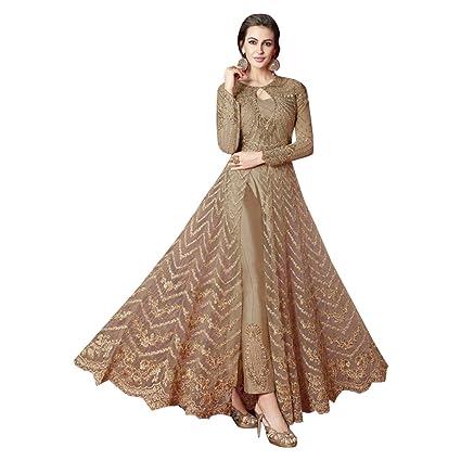 e5d03a739a Amazon.com: Muslim Bridal Wedding Collection Long Pants Style Anarkali Suit  Pakistani Custom to Measure Eid 2833: Home Improvement
