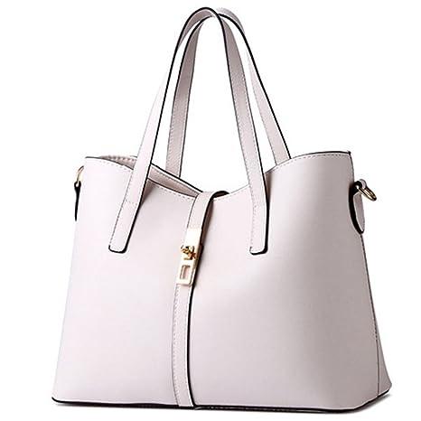 6ca9ac634307 Amazon.com: UOXMDNJC Women Bag New Ladies Shoulder Bag Pu Leather ...