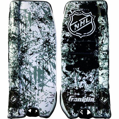 Franklin Sports NHL SX Pro GP 1200 Goalie Pads, Junior 27-Inch (Hockey Goalie Ice Pro Leg)