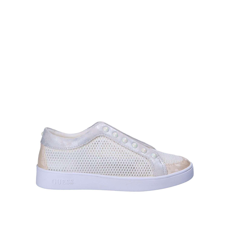 GUESS FLIEA1FAM12 Sneakers Mujer 36 EU Blanco En línea Obtenga la mejor oferta barata de descuento más grande