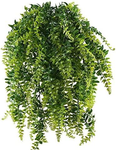 Farn Hängefarn Hängepflanze Kunstfarn Kunstpflanze künstlich 60 cm 778825 F76