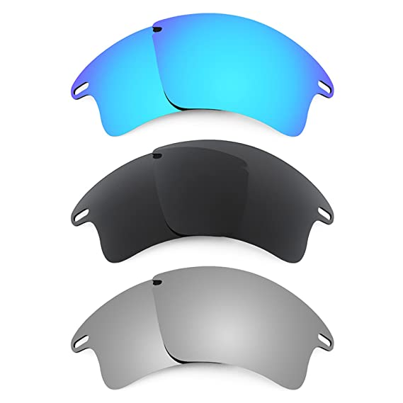 5fb3fb2220 Revant Replacement Lenses for Oakley Fast Jacket XL 3 Pair Combo Pack K015   Amazon.co.uk  Clothing