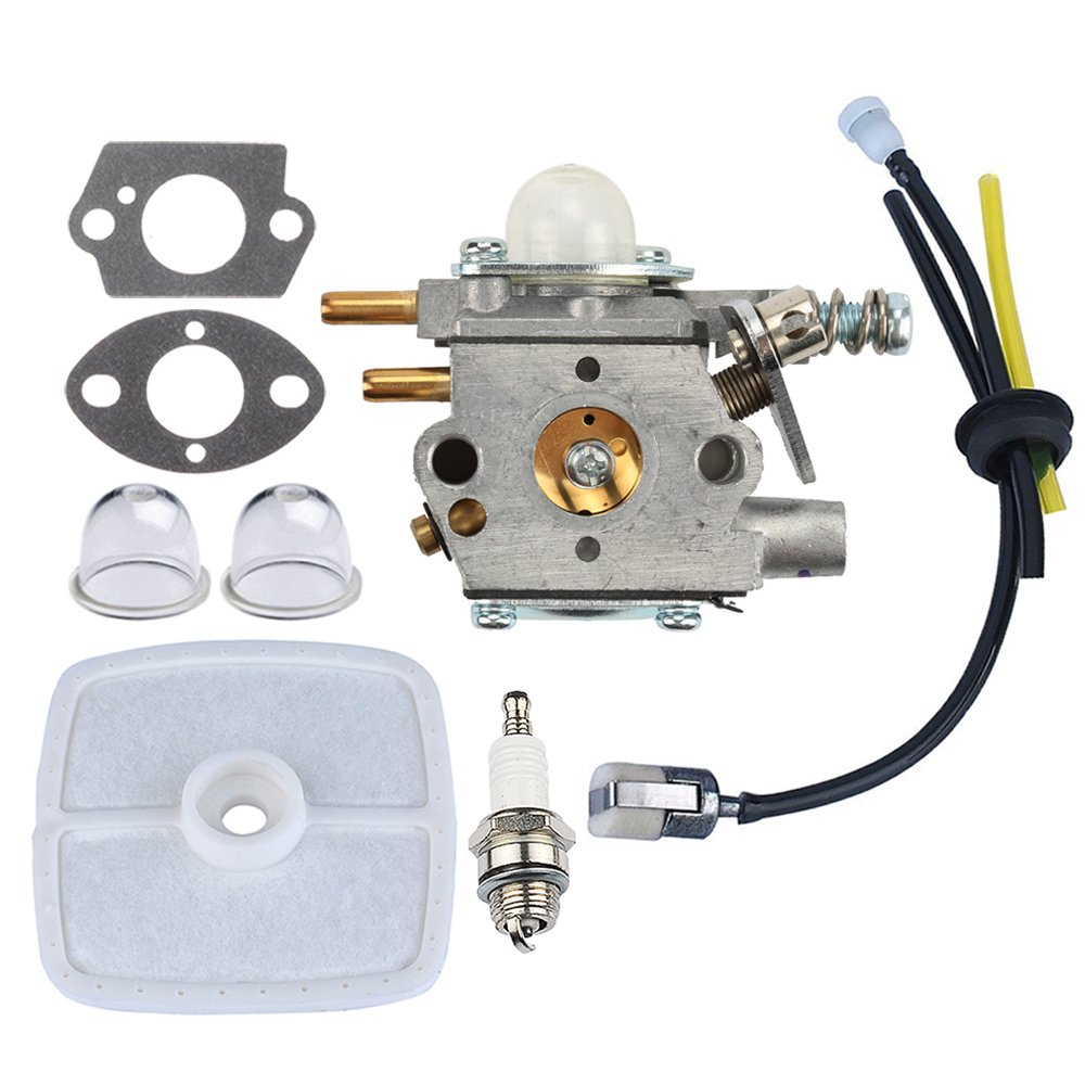 Panari Carburetor + Air Filter Fuel Line for Echo Pole Saw Pruner PP1250 PP1260 PP1400 PPFD2400 PPSR2433 PPT2400 TT24 TT24A by Panari